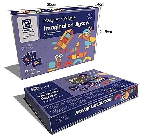 Magnetic Jigsaw Puzzle – Magnet Collage Imagination Jigsaw