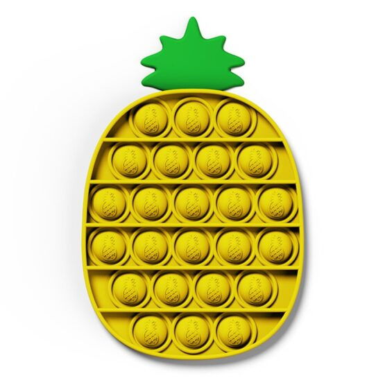 Pop it Fidget Toy | Pineapple Shape | Color may vary
