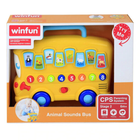 Winfun Animal Sounds Bus
