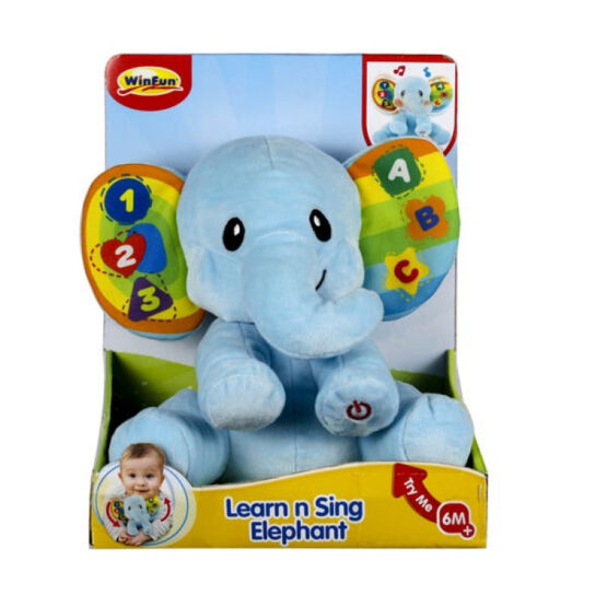 Winfun Learn With Me Elephant