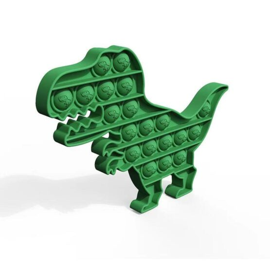Pop it Fidget Toy | Dinosaur Shape | Color may vary