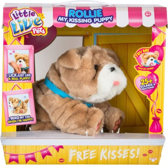 Little Live Pets | Rollie My Kissing Puppy