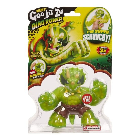 Heroes of Goo Jit Zu Action Figure – Dino Hero Series 2 Tritops