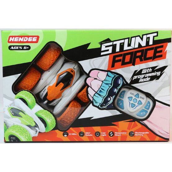 Hendee 360 RC Stunt Force Car with Light | Color May Vary