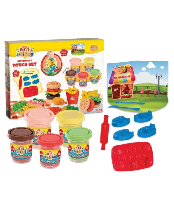 Art Craft Hamburger Dough Set