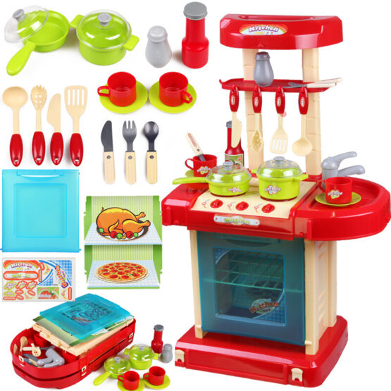 Kitchen and Cooking Play Set