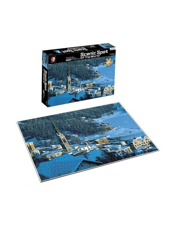 Scenic Spot of the World – 500 pcs – Snowy Town