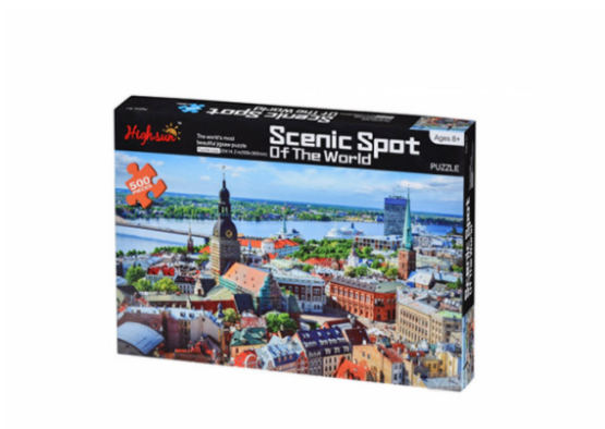Scenic Spot of the World – 500 pcs – Sea Port