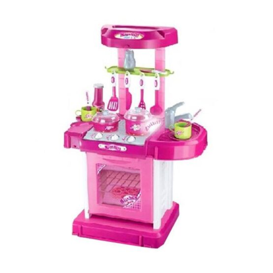 Pink Kitchen and Cooking Play Set