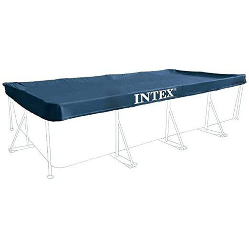 Intex 28039 Protective cover for rectangular pool Blue 450 x 220 x 20 cm