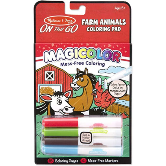 MD Magicolor   On the Go   Games & Adventure Coloring Pad