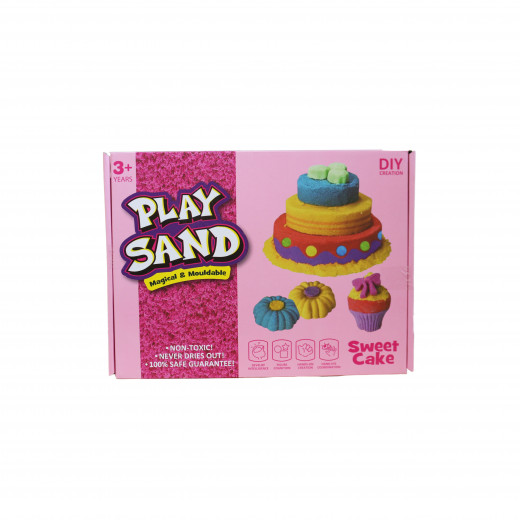 Play Sand, Magical & Mouldable, Sweet Cake