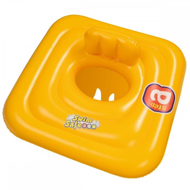 Bestway   Baby SwimSafe Seat Learn to Swim Square   0 – 12 months