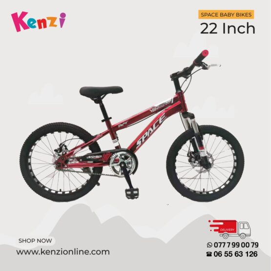 Space Baby 22 Inch Red Bike | 9 yrs – 12 yrs