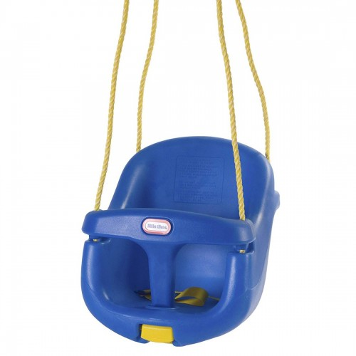 Little Tikes High Backed Toddler Swing Blue