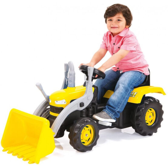Dolu Ride on Tractor with Loader