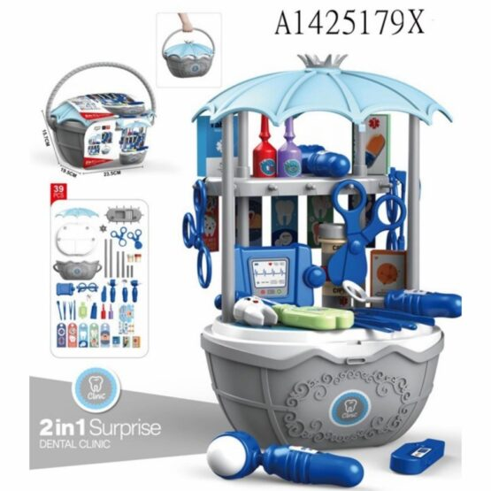 Dental Clinic 2in1 Surprise Cart Playset