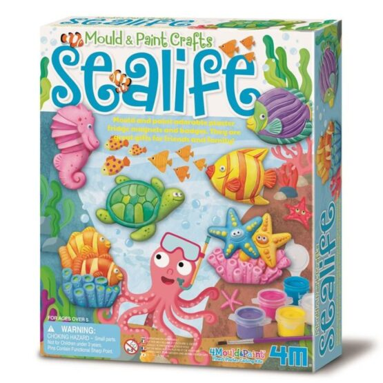 Mould and Paint Crafts – Sea life