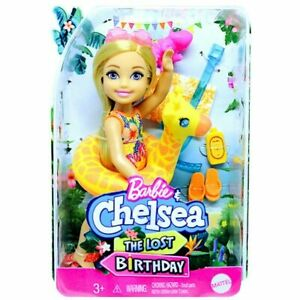 Barbie And Chelsea The Lost Birthday Doll And Giraffe Floatie