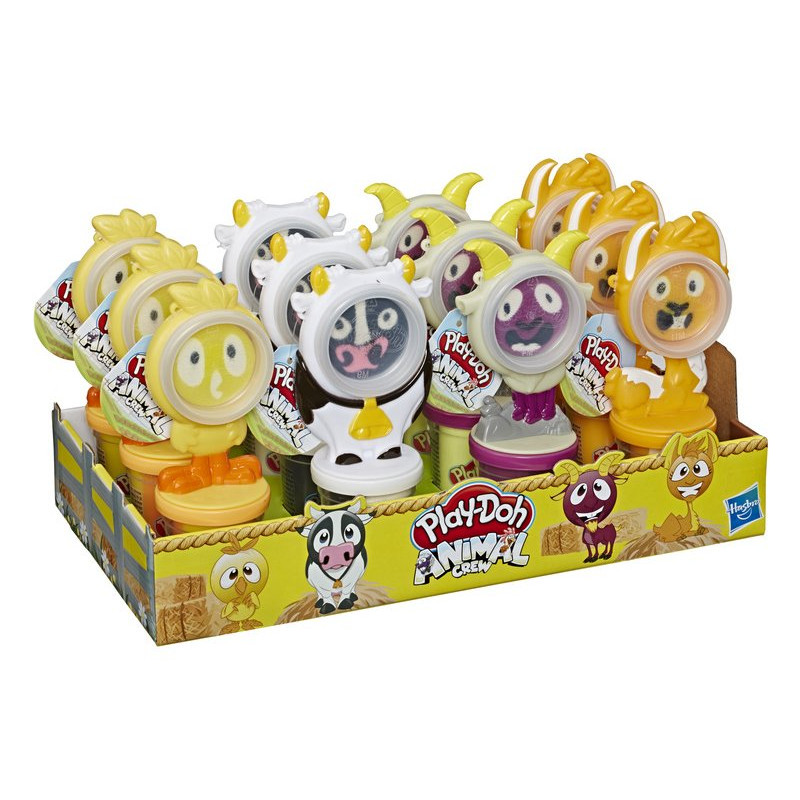 Play-Doh Animal Crew Can Pals – Assorted