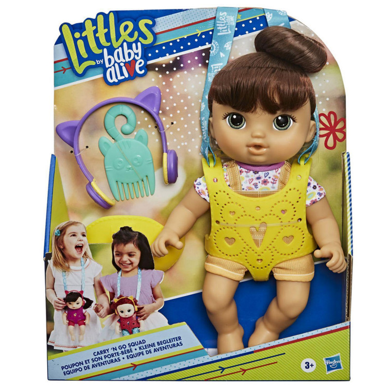 Littles By Baby Alive, Carry N Go Squad