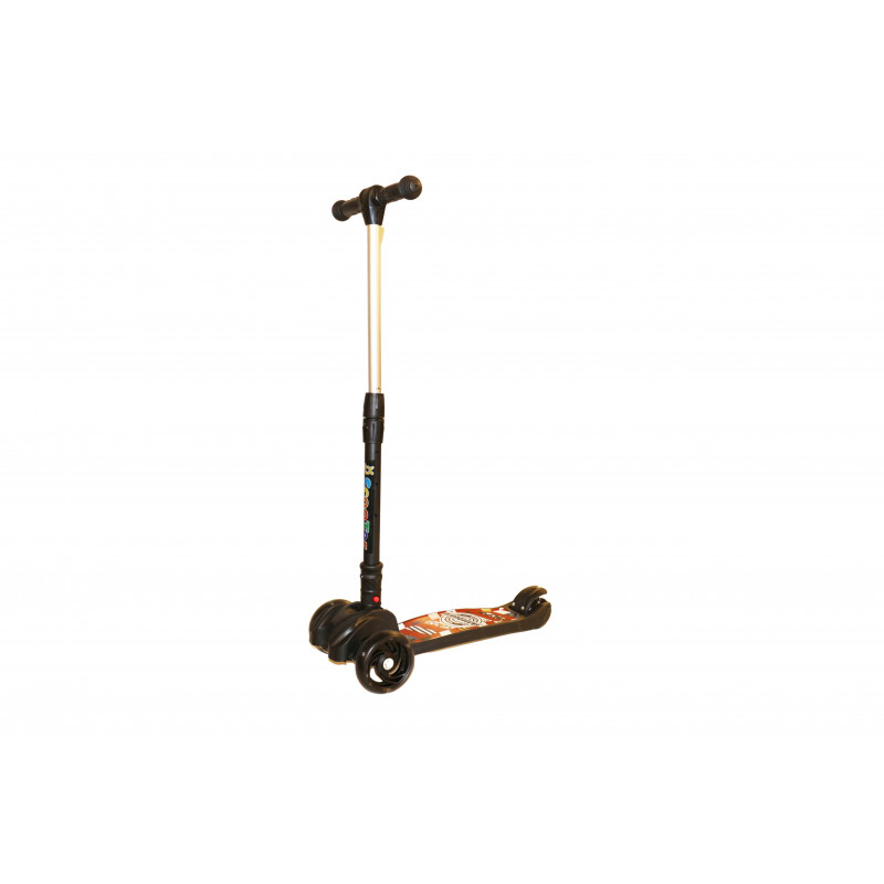 Scooter  2 Front Wheels and 1 Back Wheel | Black
