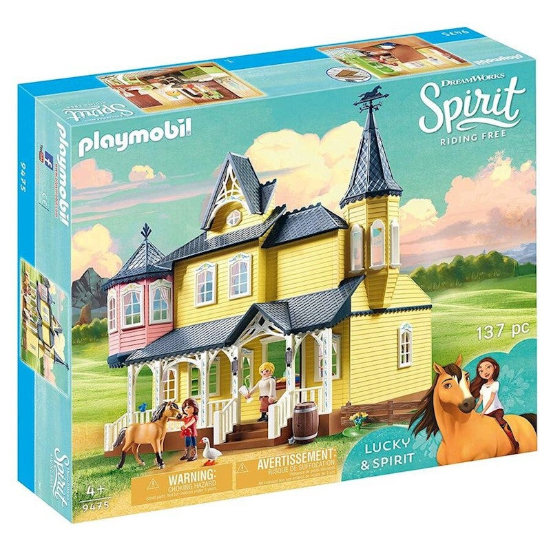 Playmobil Spirit Riding Free Lucky's Happy Home