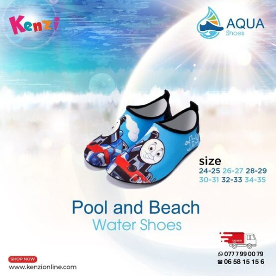Aqua Shoes | Thomas and Friends | Different  Sizes