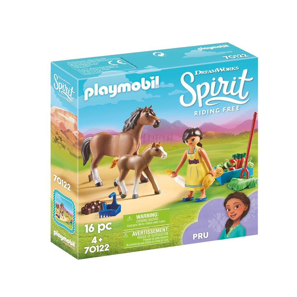 Playmobil Spirit Pru with Horse and Foal
