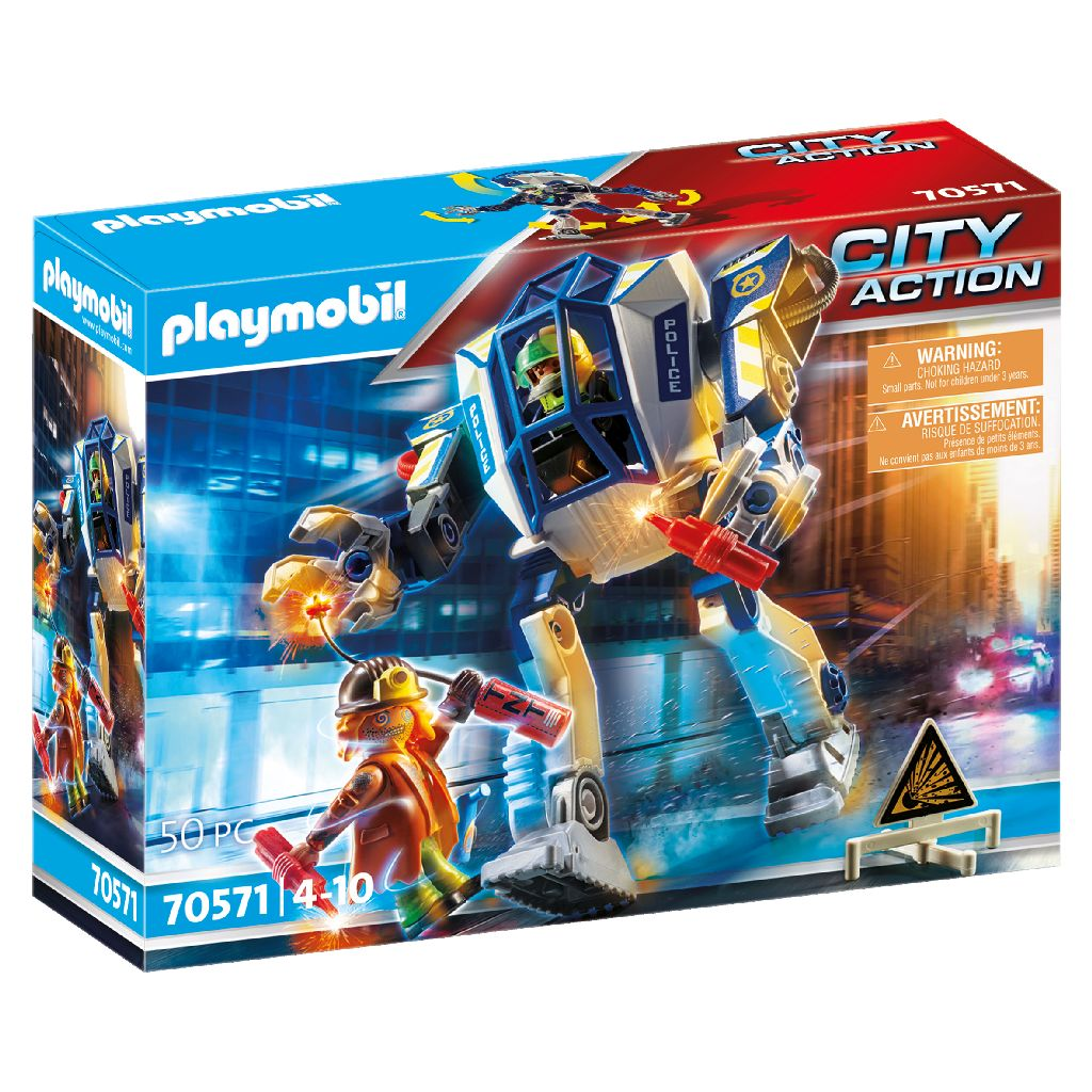 Playmobil City Action Police Special Operations Police Robot