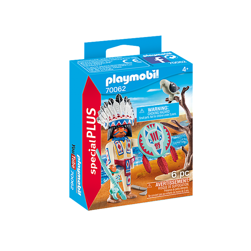 Playmobil Native American Chief 6 Pcs For Children