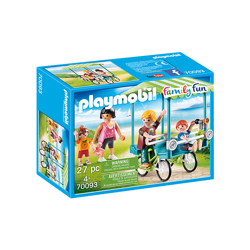 Playmobil Family Bicycle 27 Pcs For Children