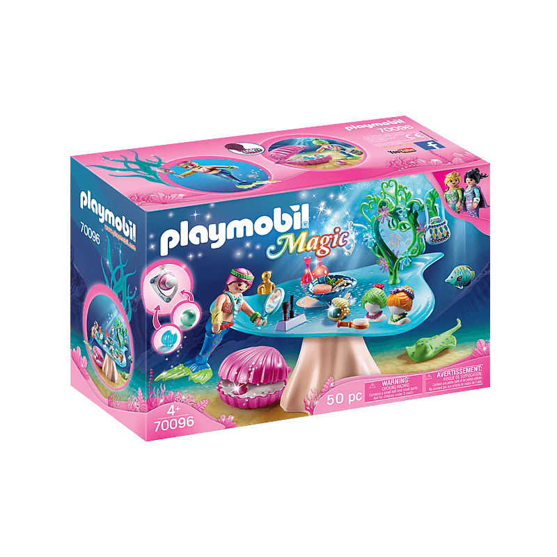 Playmobil Magic Mermaids Beauty Salon with Pearl Case 19 psc