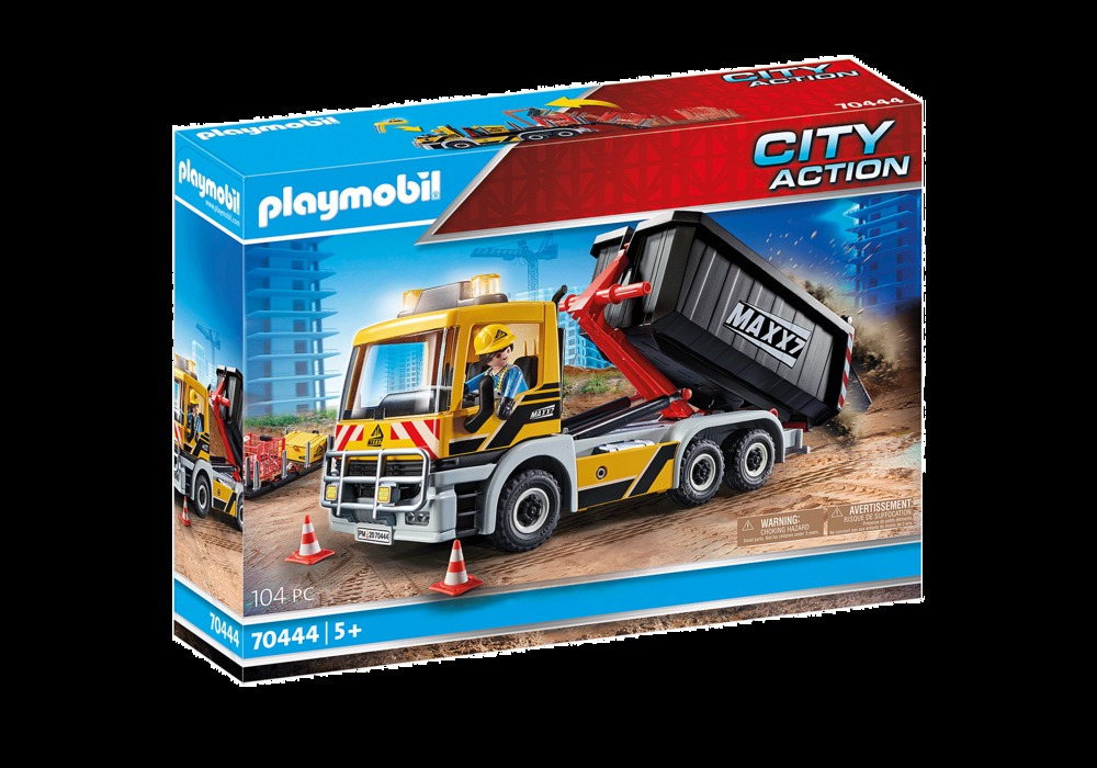 Playmobil City Action Interchangeable Construction Truck