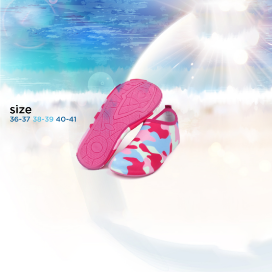 Aqua Shoes | Pink Army | Different Sizes