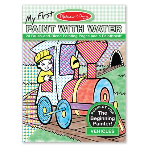Melissa & Doug My First Paint with Water – Vehicles