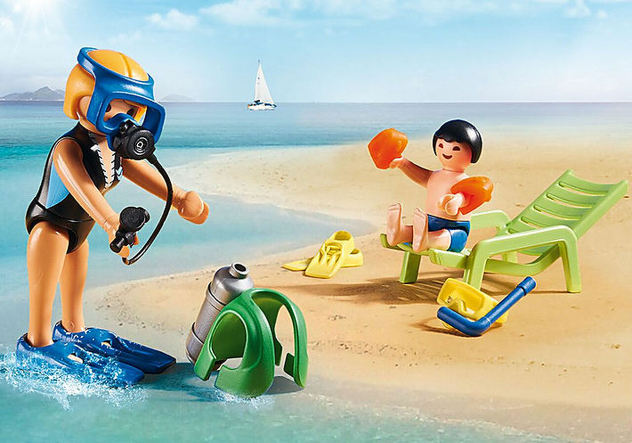 Playmobil Water Sports Lesson 73 Pcs For Children