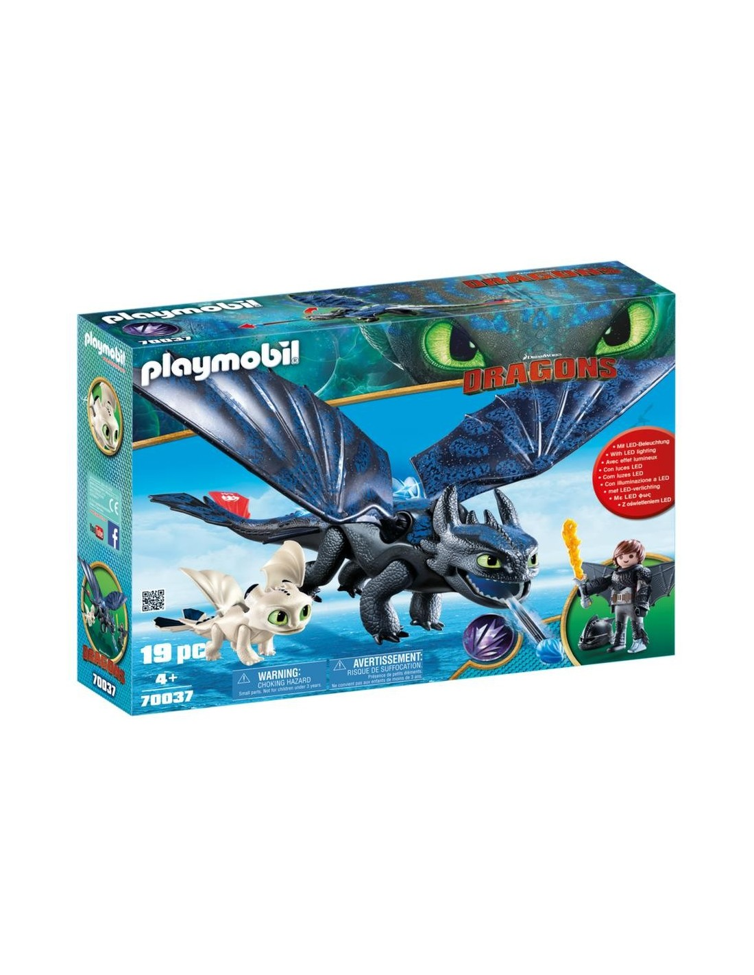 Playmobil How to Train your Dragon Hiccup and Toothless