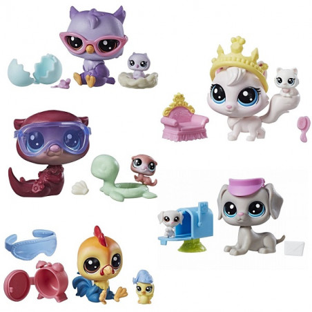 Littlest Pet Shop Littles Pet Pairs with accessories, assorted