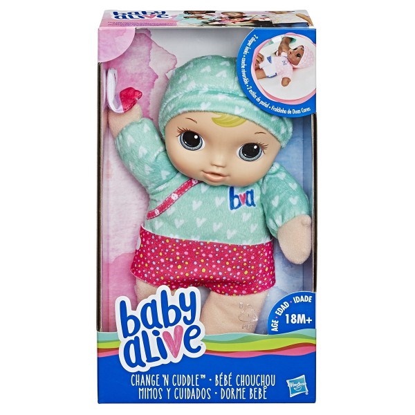 Baby Alive Change N Cuddle Baby