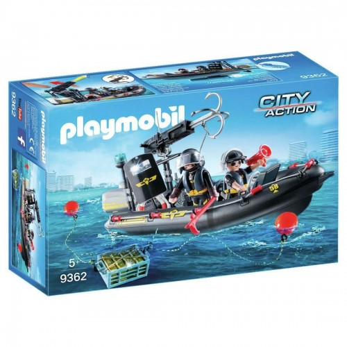 Playmobil Tactical Unit Boat For Children