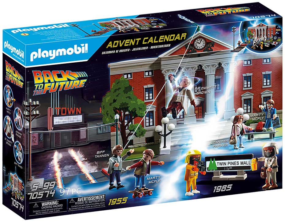 Playmobil Back to the Future Advent