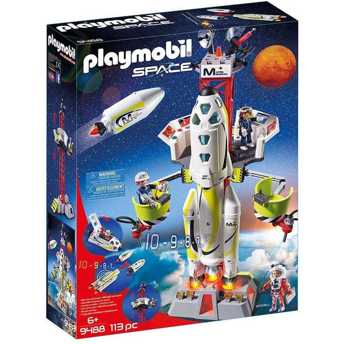 Playmobil Space Mission Rocket with Launch Set