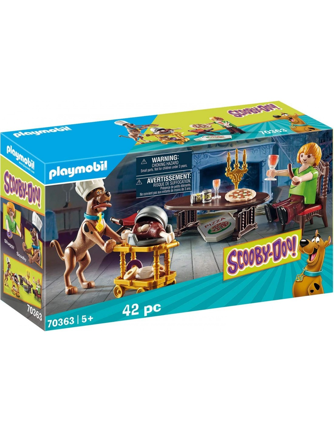 Playmobil – Scooby-Doo! Dinner with Shaggy