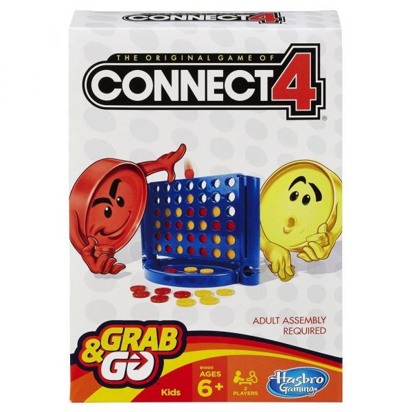 Hasbro Connect 4 Game Grab and Go