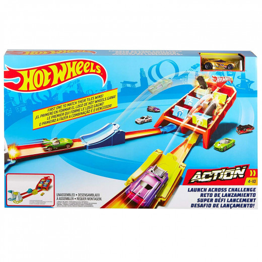Hot Wheels GBF89 Action Play Set for 1 or 2 Players