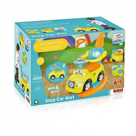 Step Car 4 in 1 With Poster