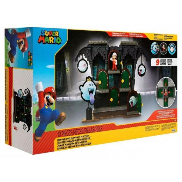 Spin Master Nintendo Deluxe Boo Mansion Playset