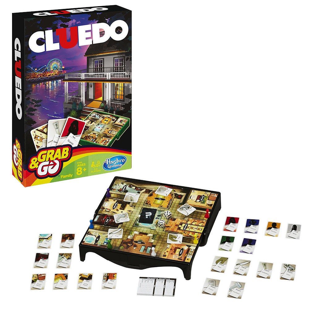 Hasbro – Clue Grab and Go Game (Travel Size)