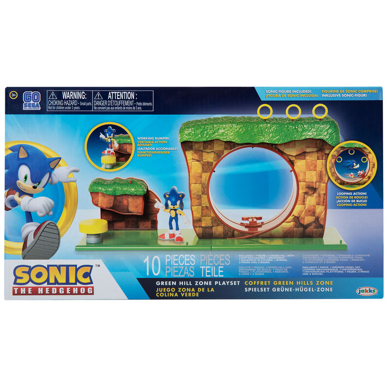 Spin MasterSonic The Hedgehog Green Hill Zone Playset